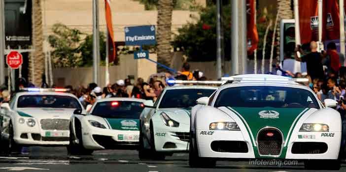 Super Car untuk armada kepolisian