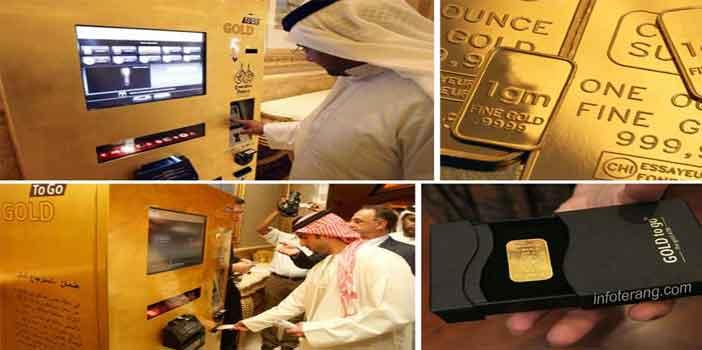 ATM khusus untuk emas batangan