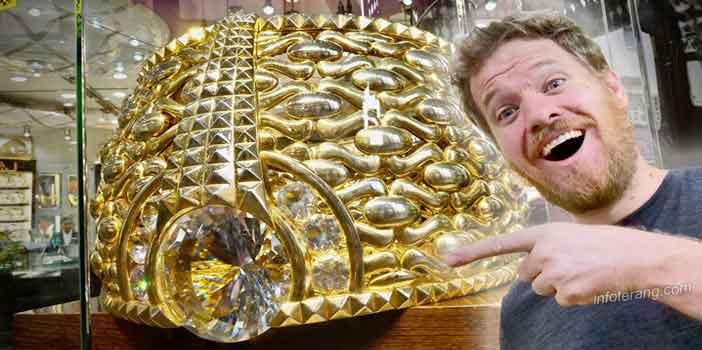 Cincin emas terberat didunia