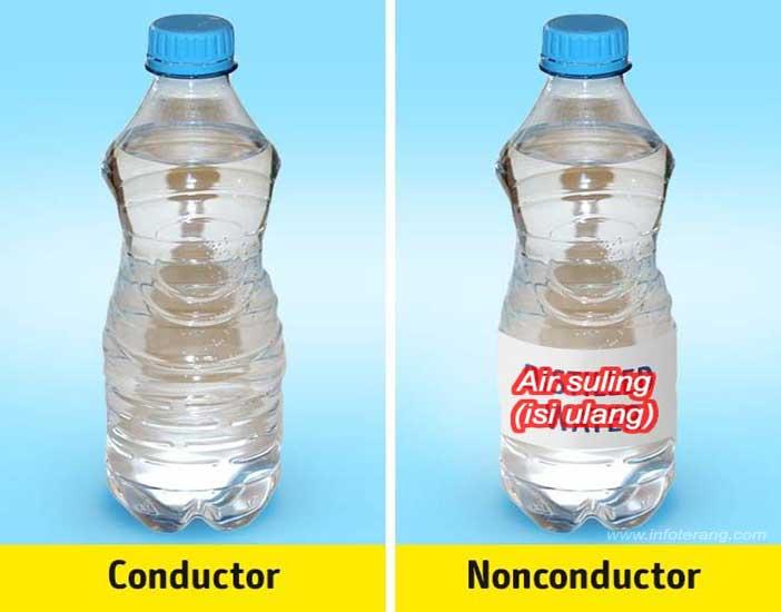 Hoax Air Minum (Isi Ulang) Penghantar Arus Listrik