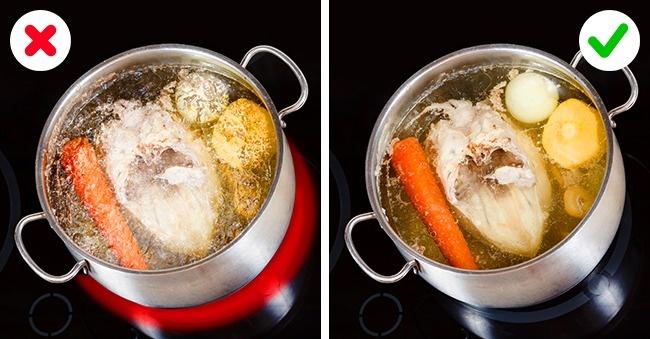 cara memasak kaldu yang jernih