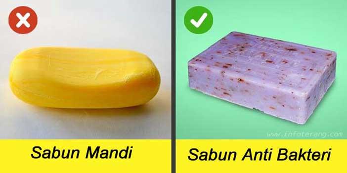 Mitos Sabun Membunuh Bakteri
