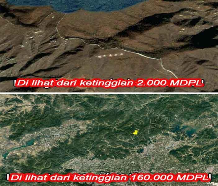 Hoax Tembok China Terlihat dari Luar Angkasa