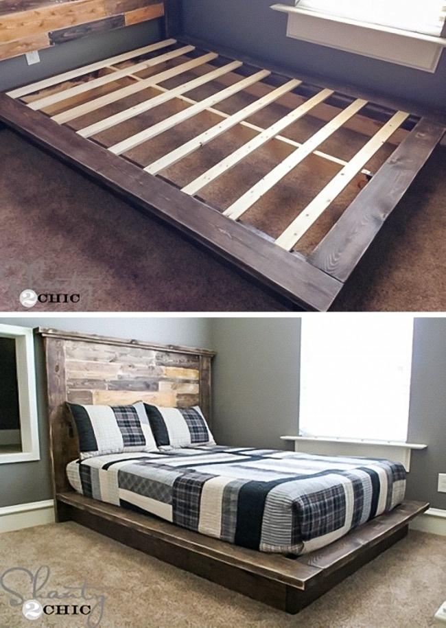 cara membuat tempat tidur buatan sendiri