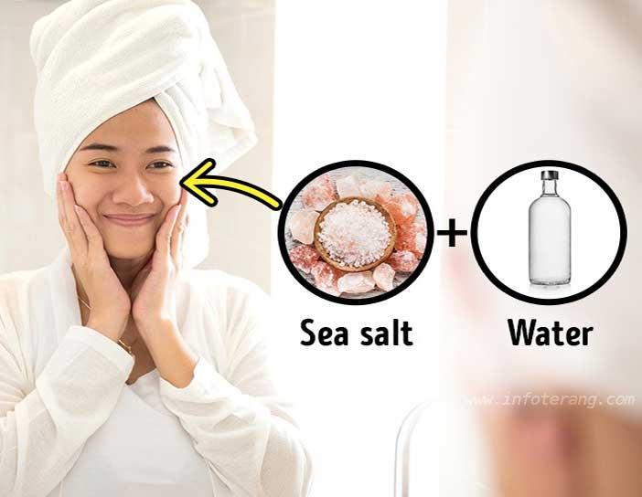Tonik dari Garam Laut