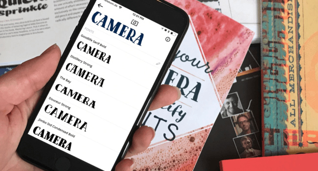 rubah handphone menjadi pembaca jenis font