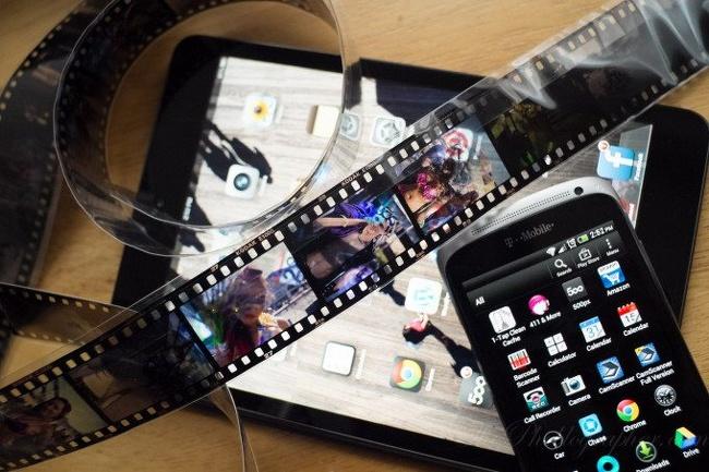 rubah handphone menjadi pembaca /scanner negative film