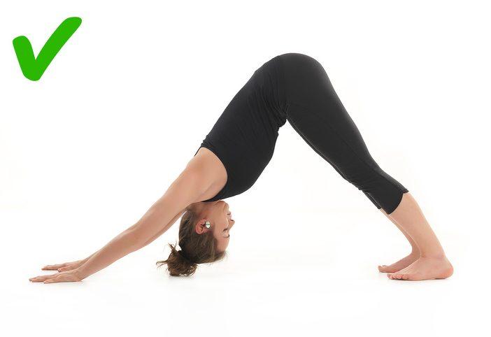 peregangan postur yoga