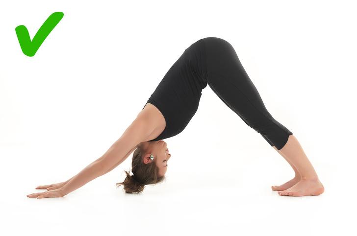 peregangan postur yoga dapat Mengobati Migrain