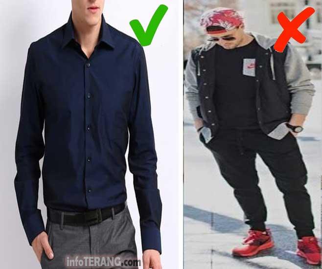 Pakaian dan Sepatu Mahal Bermerek