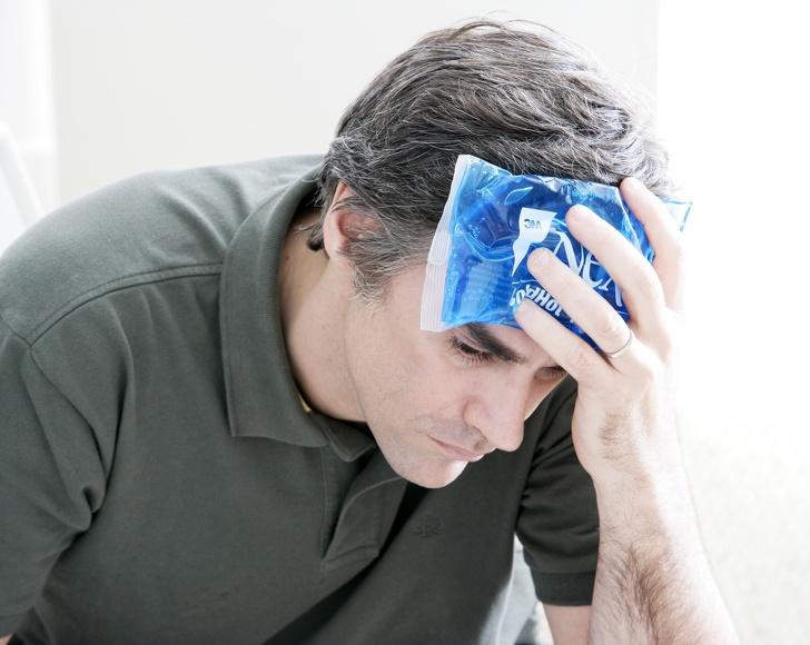 kompres kepala - Mengobati Migrain