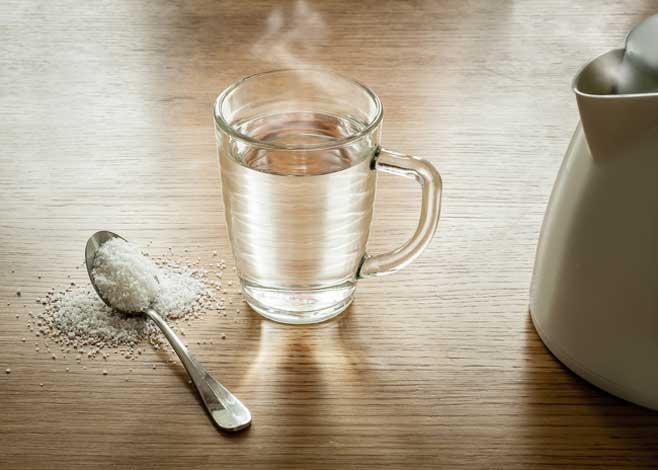 kumur air garam
