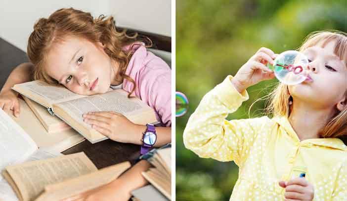 Bimbingan belajar tambahan untuk anak