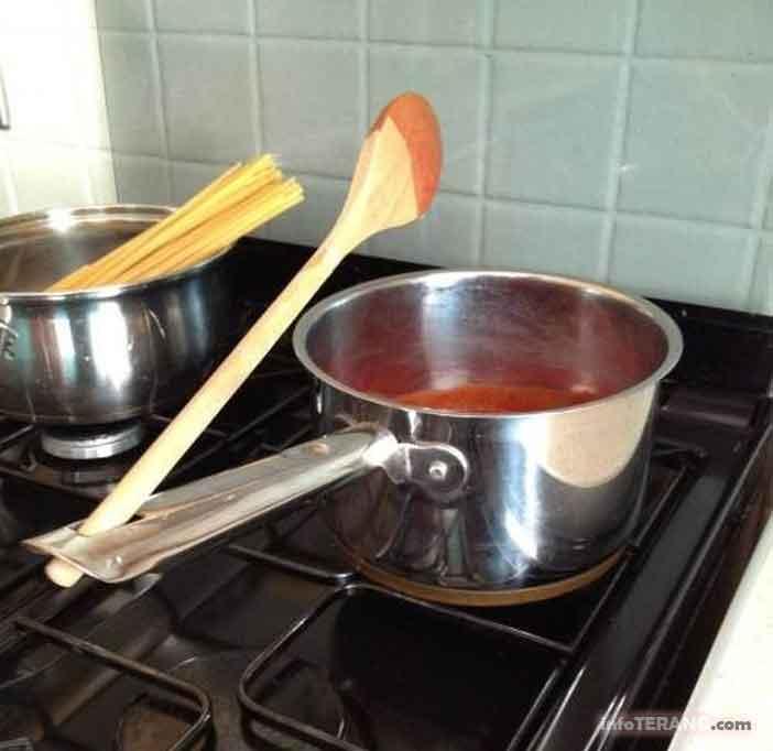 Fungsi Lubang pada gagang peralatan memasak