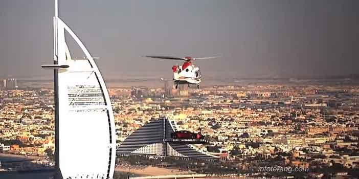 Helicopter sebagai Angkutan alternatif untuk menghindari kemacetan