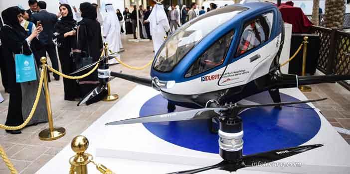 Drone sebagai Armada Taxi