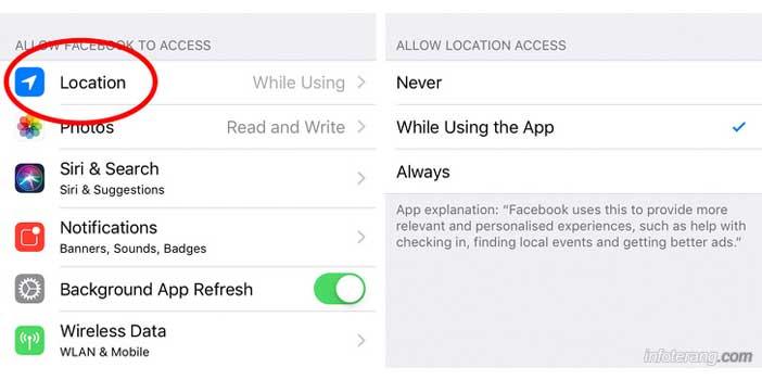 Privasi Aplikasi