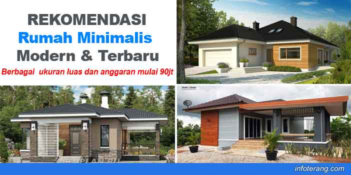 Model Desain Rumah Minimalis Modern 2019