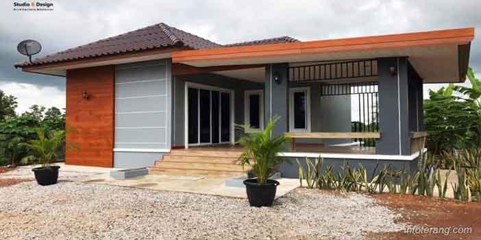 Rumah Minimalis Model Kontemporer (Bungalow)