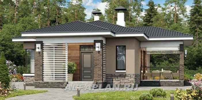 Rumah Minimalis Modern Model Mewah