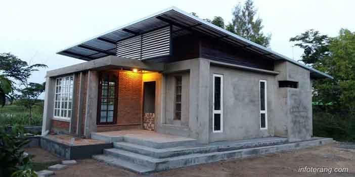Model Rumah Minimalis Gaya Modern