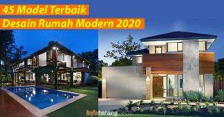 45 Desain Rumah Modern 2020
